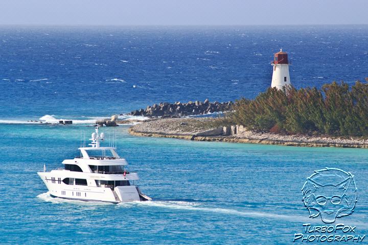 Lighthouse & Yacht