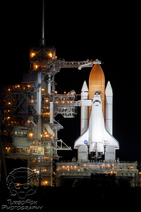 Twas the Night Before Liftoff (Atlantis)