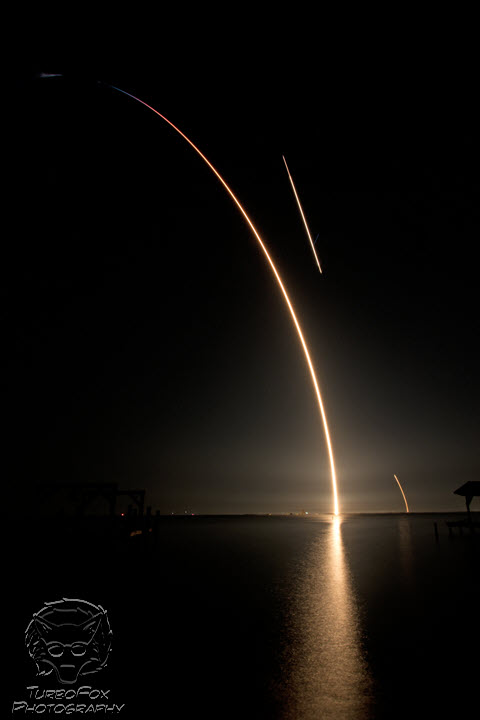 SpaceX CRS-17 Launch & Landing